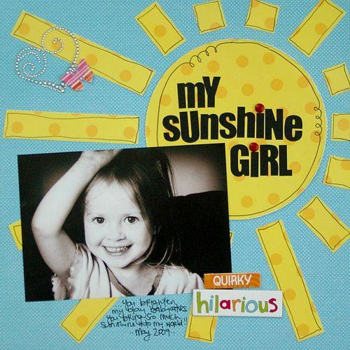 My sunshine girl